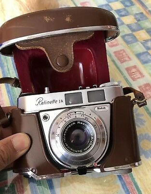Collectible, Functional Excellent Kodak Retinette 1a Germany Film Camera 45/2.8