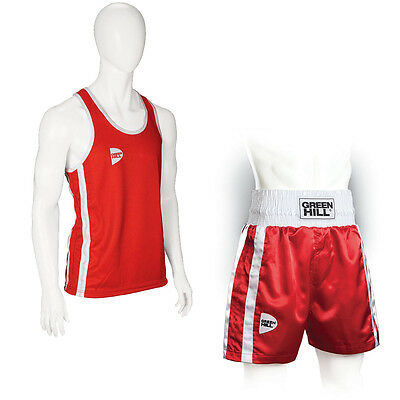 Greenhill Boxing Vest Elite Boxen Weste,Tank Top,Gym Top,Training Gym Vest Training Fitness Studio Weste Gym Boxing Top Ideal for Boxing and Combat Training.