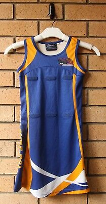 North Ryde Rsl Girl's Netball Dress Size 12 Cooper Sports
