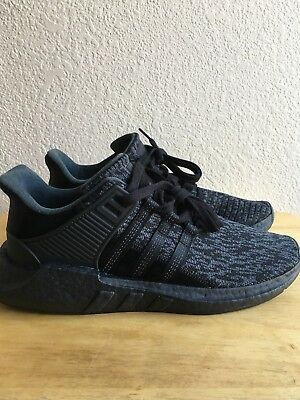 57b3f21f8 Adidas Equipment EQT Support Boost 93-17 Triple Black PK Ultra NMD Size10  BY9512