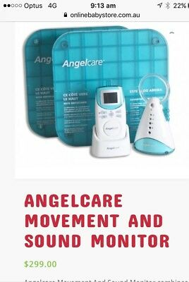 angelcare AC401 sound and movement monitor RRP $299