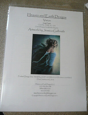 Heaven and Earth Designs Counted Cross Stitch Chart / Pattern - Vision