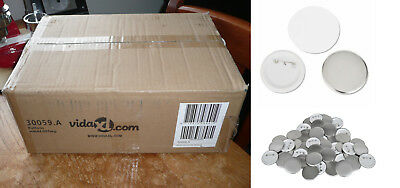 One Box Of 44 mm Badge Parts - 500 Sets For Badge Making Machine.
