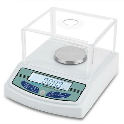 300g x 0.001g Lab Analytical Balance Scale Digital Precision Weighing with Level