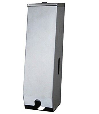 Metlam TRIPLELINE TOILET PAPER DISPENSER Surface Mounted, Stainless Steel