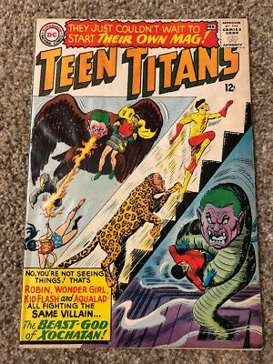 The Teen Titans #1 (1966) 1st Solo Series
