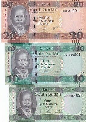 South Sudan 10 Pounds Nd 2011 P7 Uncirculated Graded 67