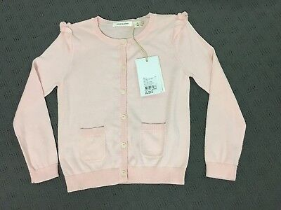 Bnwt Country Road Girls Pink Cardigan Size 4