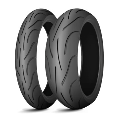 Satz 120/70 ZR 17 (58W) + 160/60 ZR 17 (69W) Michelin Pilot Power
