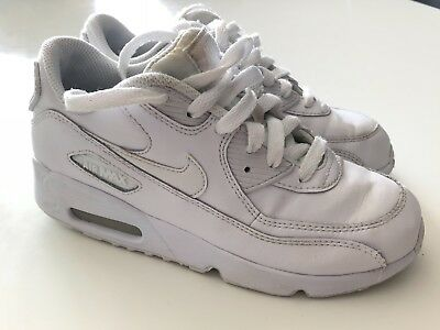 newest dbaea 1a388 Basket Nike Air Max Blanche Taille 34 Enfant