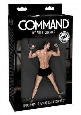 Sex Toys Kit di Bloccaggio da letto Command Under Mattress Bondage Straps BDSM