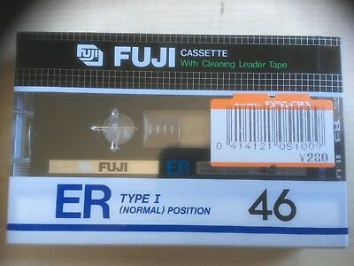 Fuji Er 46 Factory Sealed Audio Cassette Japan