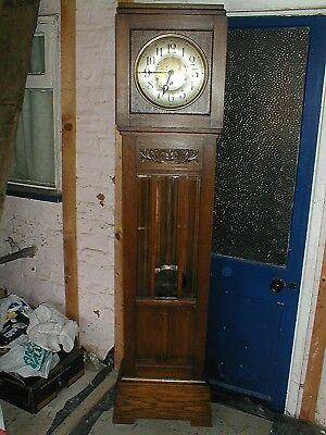 1 Day Bargain  Art Deco Westminster Chime Longcase Bevel Glass Front Just £60