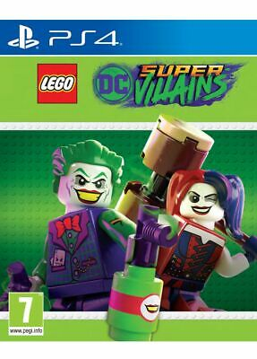 Lego DC Super Villains (PS4) New & Sealed Free UK Postage IN STOCK NOW