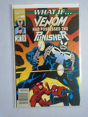 "What If (2nd Series) #44, ""Venom Had Possessed the Punisher"" 8.5/VF+ (1992)"