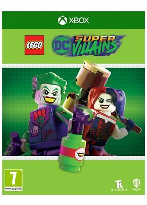 Lego DC Super Villains (Xbox One) Brand New & Sealed UK PAL IN STOCK NOW