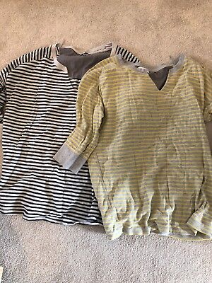 Bundle Two Striped Next Maternity Jumpers Size 16
