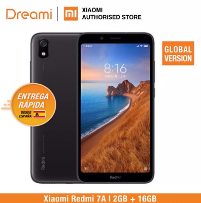 Xiaomi Redmi 7A smartphone with a global version, 2 GB, 32 GB, 4000 mA battery