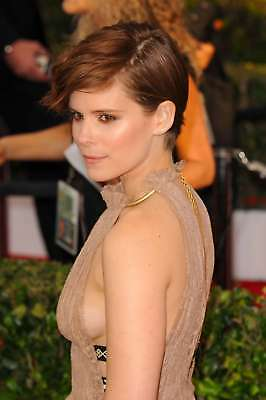GLOSSY PHOTO PICTURE 8x10 Kate Mara Sexy Without Bra