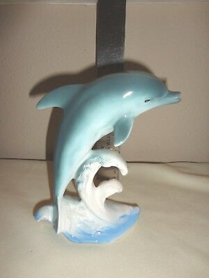 Vintage Dolphin Figurine Made In Japan