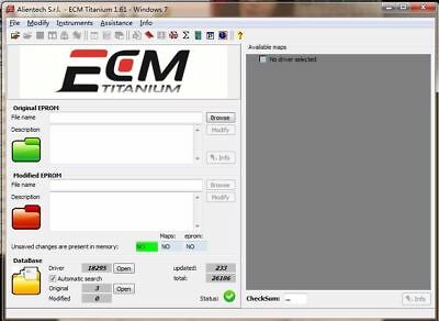 ECM Titanium 26000 Driver EGR OFF DPF FAP DTC Hot Start Swirl OFF Tuning Ecu