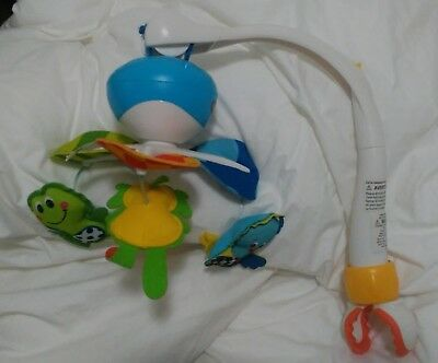 Tiny Love Take-Along Baby Mobile with Music