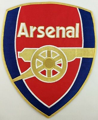 Arsenal Football Club Soccer Patch Badge Embroidered Iron On Applique XX Large
