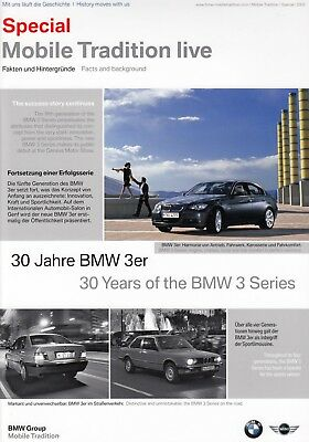 BMW MOBILE TRADITION 30 Jahre Years 3er E21 E30 E36 E46 M3 Cabrio Prospekt /48