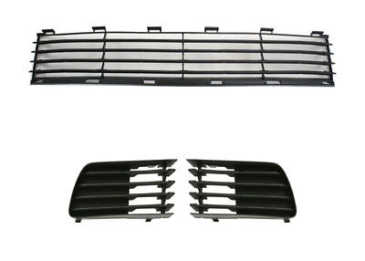 FOR 2004 2005 2006 2007 2008 2009 TY PRIUS FRONT BUMPER GRILLE FOG LAMP BEZELS