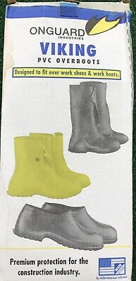 """VIking Onguard PVC 10"""" Overboots XXL Mens Size 14-15  New"""