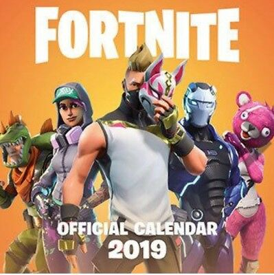 In Stock Fortnite Official 2019 Wall Calendar New & Sealed. Christmas