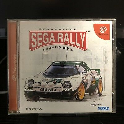 Sega Dreamcast | Sega Rally 2 | Japanese Import