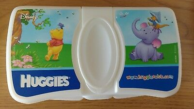 Huggies Winnie the Pooh Baby Wet Wipes Travel Case - New