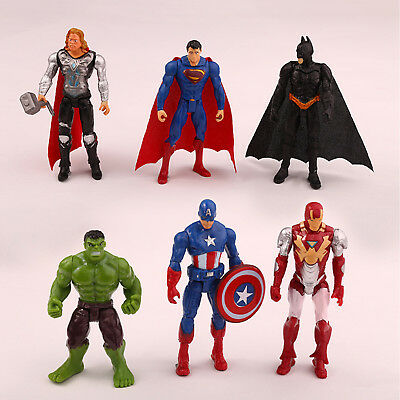 Marvel Avengers Super Hero Incredible Action Figure Figurine Toy Doll Collection