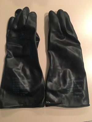 Chemical Protective glove set Used 8415-01-033-3518 Size M