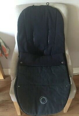 BUGABOO Universal Footmuff Limited Edition Denim 107 Cosytoes Bee Cameleon