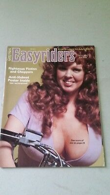 Easyriders Magazine 1976 To 1989 Lot Of 15 Plus 4 David Mann Harley Choppers