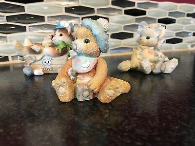 Baby Theme Calico Kitten Collection by Priscilla Hillman