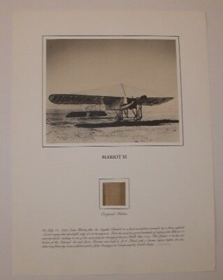 A Piece Of History  Aviation Relic Bleriot Xi Smithsonian Aviation Relic Serie