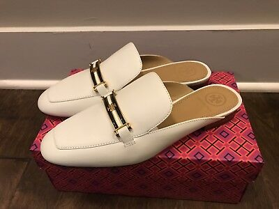 ac7f495e76a Tory Burch Women s Amelia Backless Loafer Perfect Ivory 52125 Sz 7 - New In  Box