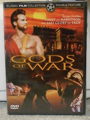 Gods of War - The Giant of Marathon/The Last Glory of Troy (DVD 2005) RARE NEW