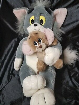 Hamilton Presents  Large Tom and Jerry Plush toy Approximately 24 inches 1987
