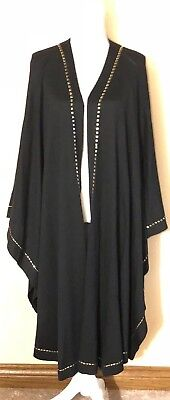 St John Collection by Marie Gray Shawl Wrap Classic Style W/Gorgeous Trim!!