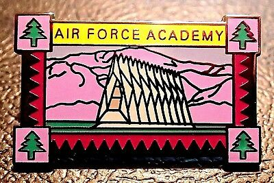limited edition AIR FORCE ACADEMY FRAMED CHAPEL lapel pin BADGE