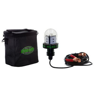 Hydro Glow Deep Water LED Fishing Light  Green Globe Style 45W 12V  compact size