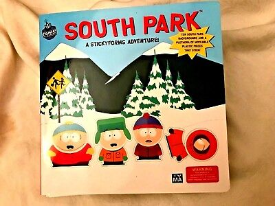 SOUTH PARK:A STICKY FORMS ADVENTURE By Comedy Central NEW First Edition1998 rare