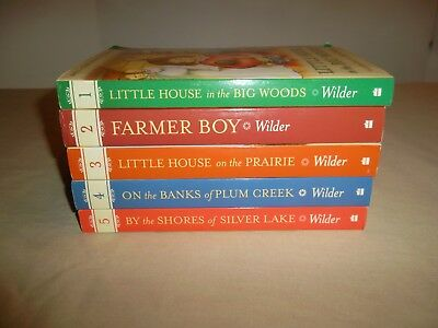The Little House Collection Books 1-5 Laura Ingalls Wilder Color Collection Book