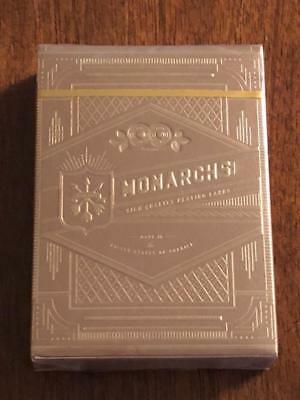 Gold Monarch Playing Cards