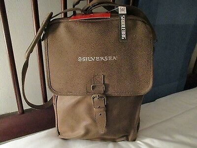 SILVERSEA Cruise Line SADDLE BAG KANATA SPORT travel airline carry on computer