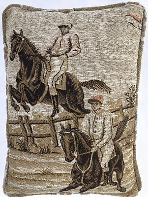 Vintage French Tapestry  Pillow